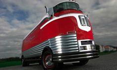 The New Old School Retro Nostalgic GM Bus