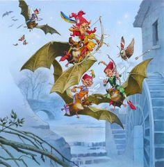 Fairy Hunters by JohnPatience on deviantART