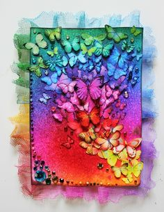 Trendy Tuesday – Rainbow Colors :: Paper Crafter's Library