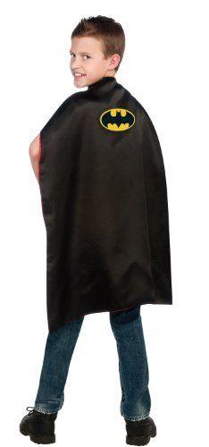 DC Comics, Reversible Batman and Superman Cape Rubie's Costume Co. $18.99
