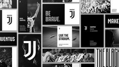 New Logo and Identity for Juventus by Interbrand #logo #design #graphics #juventus #rebrand #sport