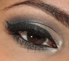 Silver Smokey Eyes (Using Naked 2)