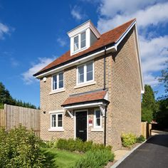 A detached 4 bedroom family home which is part of  Hunters Place Hindhead - a new community in a Surrey village showcasing 2.3 and 4 bedroom new homes in 6 styles http://www.thakeham.com/new-homes/hunters-place