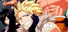 gif mine anime Fairy Tail Natsu Dragneel Gray Fullbuster Erza ...