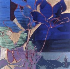 Red Cyclamen by Robert Kushner (I'd swear they're blue!)