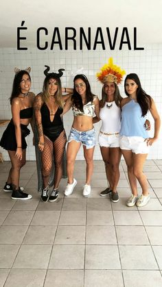 Fantasias 21 Party, Squad Goals, 21st, Cosplay, Costumes, Halloween, How To Make, Diy, Woman Costumes