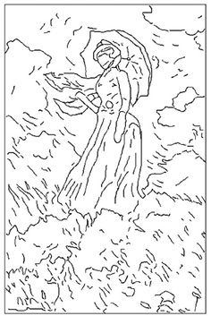 Bildresultat för claude monet printable coloring pages Free Printable Coloring Pages, Free Coloring Pages, Coloring Sheets, Kids Colouring, Free Printables, Pop Art, Claude Monet Pinturas, Famous Artwork, Famous Artists Paintings