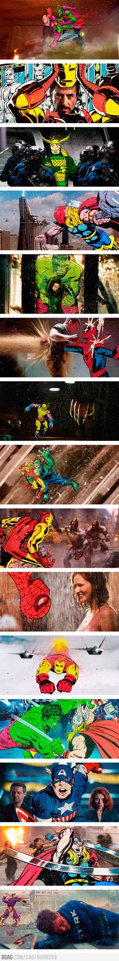 Superhero Media Crossover Project by Butcher Billy @9gag