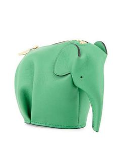 Loewe Elephant Leather Coin Case. Elephant WalletReal ... 884316a9b0daf