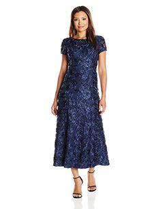 Alex Evenings Women's Petite Long a-Line Rosette Dress, N... https://www.amazon.com/dp/B06WXX64GL/ref=cm_sw_r_pi_dp_x_qHHdzbRXX9X5C