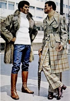 I must have that outfit on the right. Mod clothing from 1974.