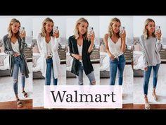 Massive Walmart Try On Haul High Fashion Outfits, Fall Outfits, Walmart Outfits, Walmart Clothes, Walmart Walmart, Clothing Haul, Try On, Fashion Pictures, Latest Fashion Trends