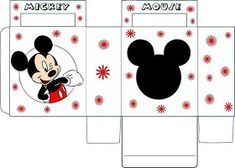 Festa Infantil tema Mickey e Minnie para imprimir    Fonte: lachocolefestasinfantis       Cones, tags, forminhas,convite caixa, tampa... ...
