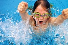 Kids rule the pool! :)