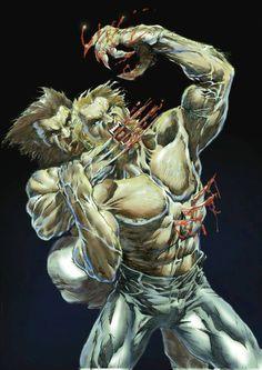 Wolverine vs Sabertooth by Francisco Bertomeu Baidal *