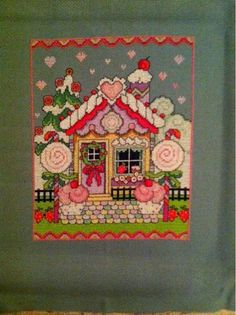Lesley Teare's Gingerbread Cottage