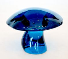 Vintage VIKING Art Glass EPIC BLUENIQUE