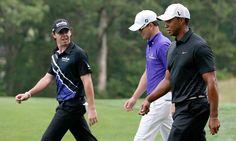 Tiger Woods, Zach Johnson, Rory McIlroy, Barclays, 2012 Barclays at Bethpage Black Photos | GOLF.com