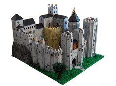 Dawn Rock Castle by LegoLord., via Flickr