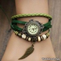 50% Off,Leather Wrap Watch Wrist Watch,Woman watch,lady watch,women watches,girl watch,cool watches,