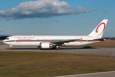 Royal Air Maroc B767-300 CN-ROG - GVA World Pictures, Aircraft, Planes, Royal Air Maroc, Aviation, Airplane, Airplanes, Plane