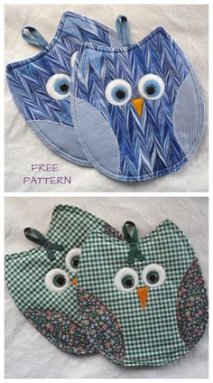 DIY Owl Potholder Free Sewing Patterns & Video Tutorials DIY Owl Potholder Free Sewing Patterns & Video Tutorials,Nähen DIY Owl Potholder Free Sewing Patterns & Video Tutorials Related posts:Tips and Tricks for Sewing Perfect. Easy Sewing Projects, Sewing Projects For Beginners, Quilting Projects, Sewing Tutorials, Sewing Crafts, Video Tutorials, Sewing Tips, Sewing Hacks, Fabric Crafts