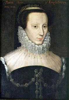 In 1542, just six days old, Mary ascended to the Scottish throne upon the death of her father, King James V. Her mother sent her to be raised in the French court, and in 1558 she married the French dauphin, who became King Francis II of France in 1559 but died the following year. After Francis' death, Mary returned to Scotland to assume her designated roll as the monarch.