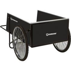 Amazon.com : Strongway Yard Cart - 49 1/4in.L x 31in.W, 400-lb., 14 Cu. Ft. Capacity : Garden & Outdoor