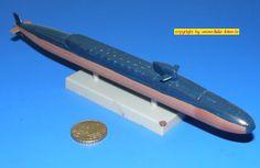 """US U-Kreuzer SSB-616 USS """"Lafayette"""" der Lafayette-Klasse (Italeri/Dragon 514) 1:700"""