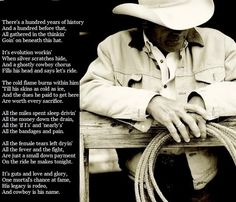 """Cowboy is His Name""- Baxter Black.... The Poem from 8 Seconds"