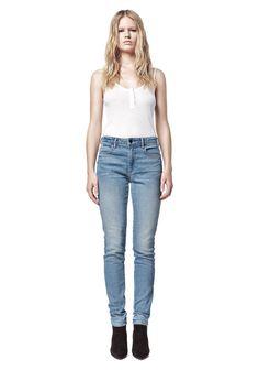 Wang 001 Slim Fit Jeans in Light Blue