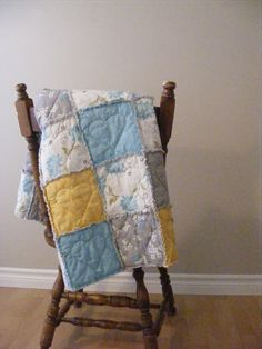 """SEW cute! Another tute on a """"simple"""" rag quilt.... {The Complete Guide to Imperfect Homemaking: A Heart-Stitched Baby Rag Quilt Tutorial}  ~KT"""