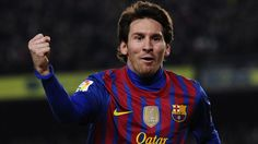 Lionel Messi struck four goals on his 200th Liga appearance