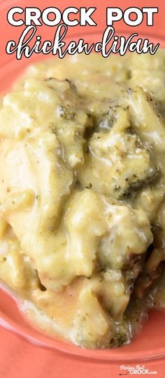 Are you looking for a way to switch up your regular crock pot chicken recipes? This Crock Pot Chicken Divan brings an easy flavorful twist to family dinner.