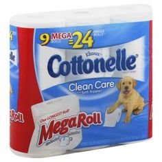 Cottonelle Bath Tissue Only $0.14/Roll At Target After Printable Coupon and Huge Cartwheel Offer!