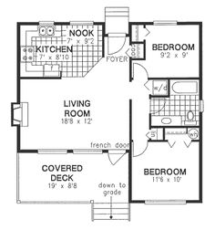 House Plan 58705 at FamilyHomePlans.com