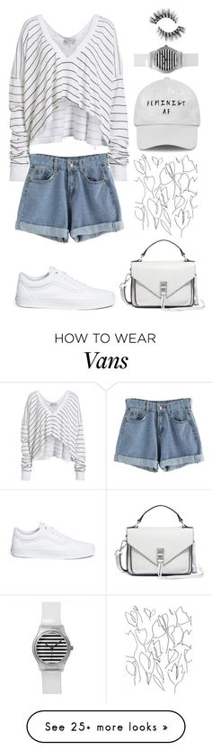 """<><><><><><><><><><><>:>"" by salin-02 on Polyvore featuring Wildfox, Vans, Rebecca Minkoff and Blume"