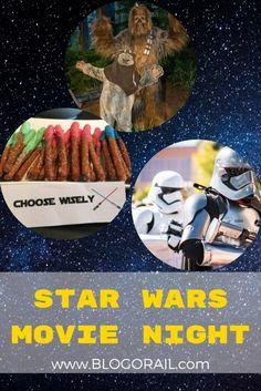 Star Wars Movie Night - The Blogorail