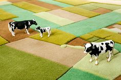Florian Pucher land rugs-how awesome is this?!