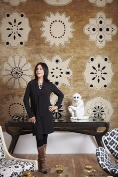 the style saloniste: A World of Style: Rug and Textiles Specialist Madeline Weinrib Opens Her New Bespoke Design Atelier and Launches Chic New Products
