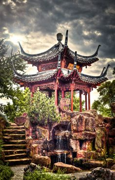 Chinese Garden by *wulfman65