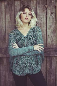 unics-tejidos: Sweater Musgo. Únics Invierno 2015 Sweater...