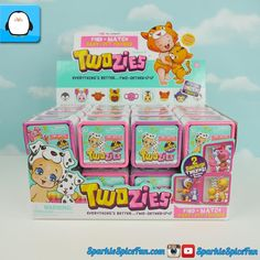 """359 aprecieri, 6 comentarii - Sparkle Spice Toy Surprises (@sparklespicefun) pe Instagram: """"First video of my full case of #Twozies opening is now up! Check it out then to see what's inside.…"""""""