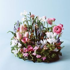 24 best spring flower arrangements images on pinterest spring as you come out from under the layers of winter franoise weeks spring arrangements mightylinksfo