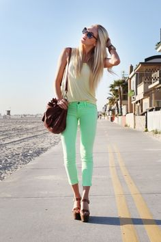mint jeans