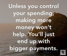 #BeDisciplined and #ControlYourSpending!