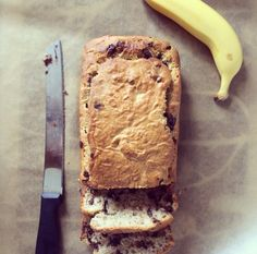 mint-choc-chip-banana-bread Choc Chip Banana Bread, Make Banana Bread, Banana Bread Recipes, Fodmap Baking, Original Banana, Fodmap Recipes, Food Words, Low Fodmap, Paleo