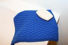 Box Stitch Washcloth Pattern  Loom: AllnOne Loom