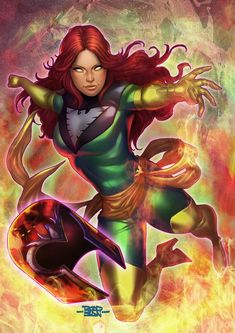 Jean Grey by Rodrigo Martins dos Santos