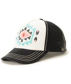 Billabong By Choice Black Print Snapback Hat
